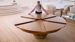 il tavolo che sboccia come un fiore
