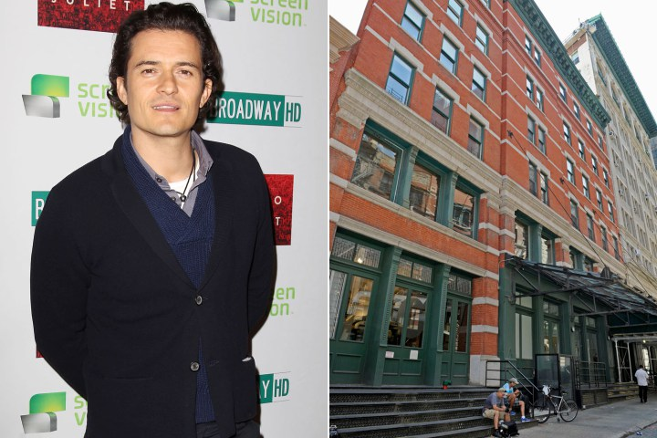 Orlando Bloom a Tribeca in New York