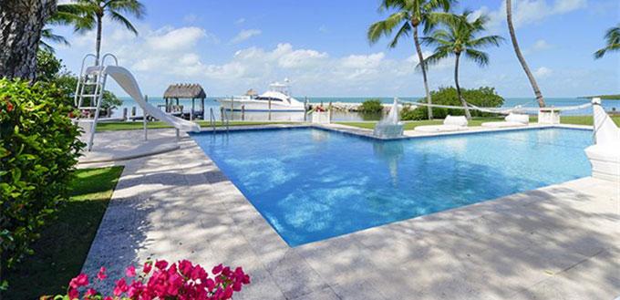 A Islamorada, in Florida, la villa affacciata sull'oceano
