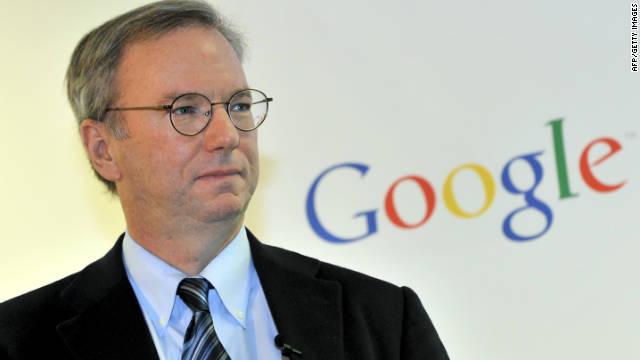 Dietro la crescita di Google c'è Eric Schmidt