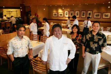 Wong ed il suo staff