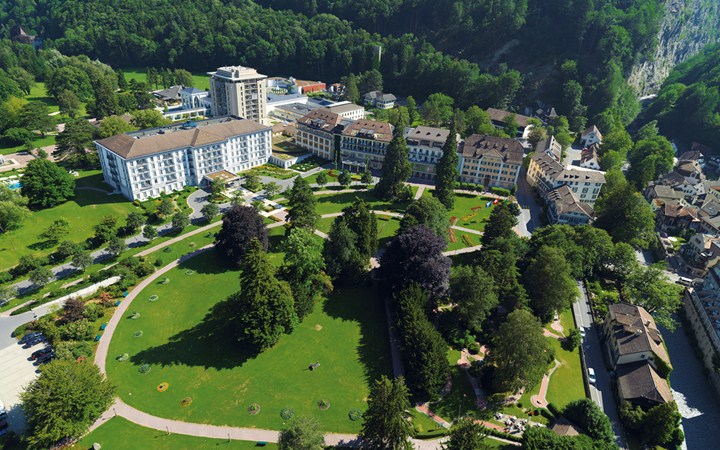 Grand Resort Bad Ragaz, lusso e relax