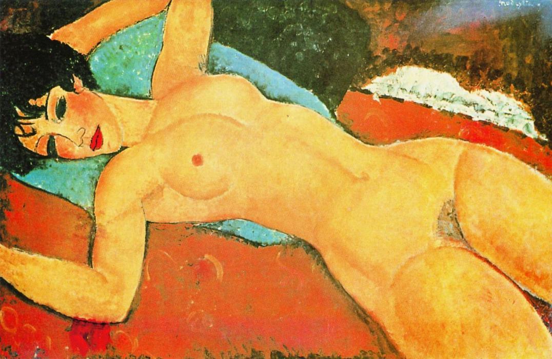 """Nu Couché"""" di Modigliani"""