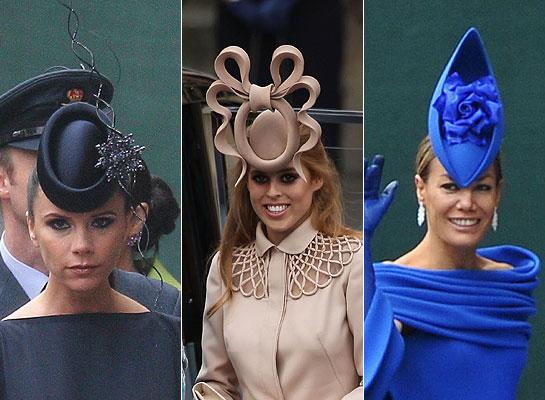 cappelli indossati al matrimonio