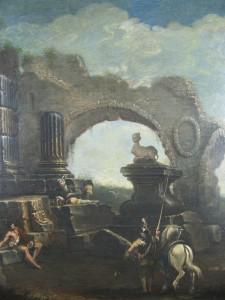 paesaggio di rovine
