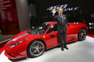 presentazione Ferrari 458