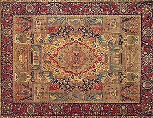 tappeto del XVII secolo