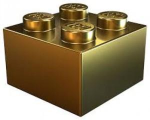 mattoncino in oro