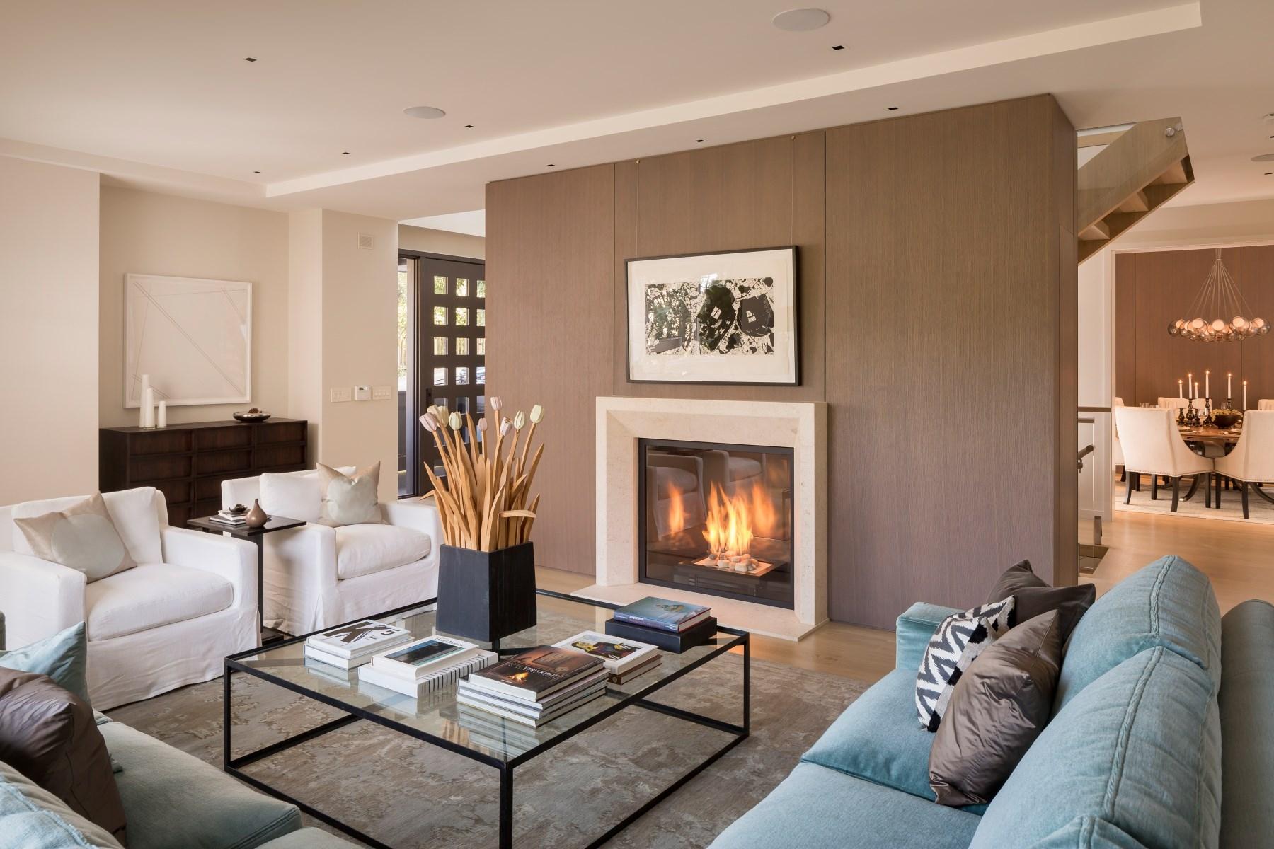Villa di lusso in vendita in california casa da 11 for Ville lussuose interni