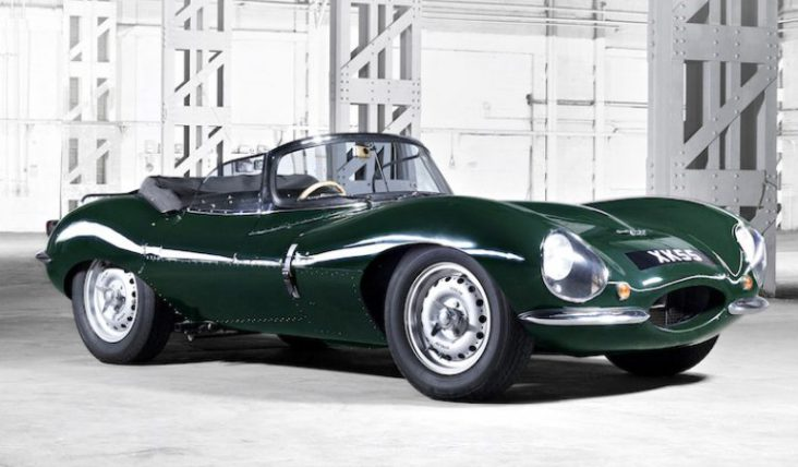 La Jaguar XKSS